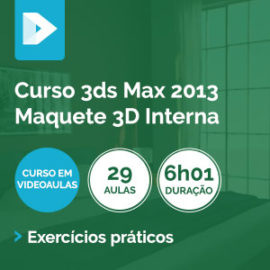 Curso 3ds Max 2013 Blocos com Mental Ray